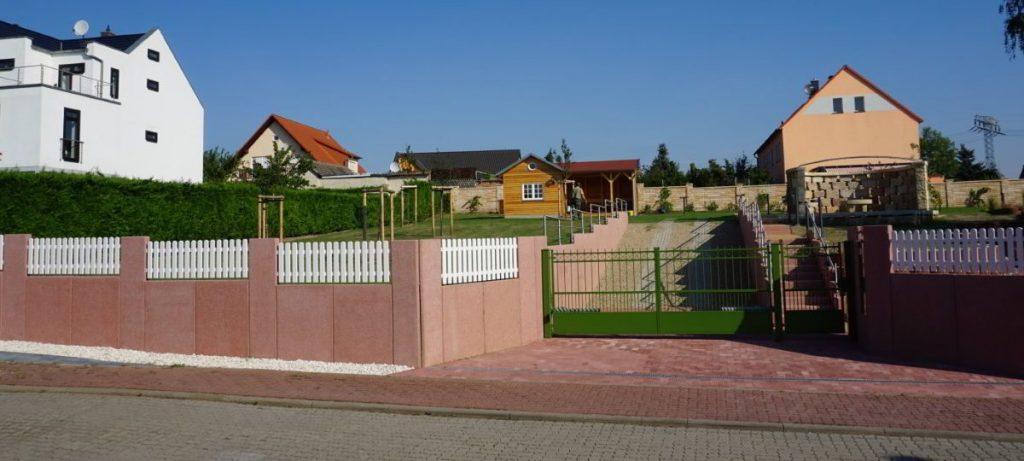 Außenanlagen Freiflächen Zufahrt zum Grundstück